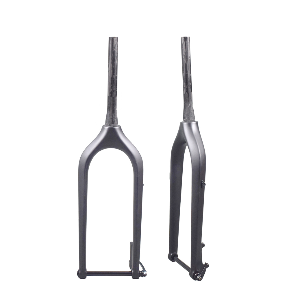 26er carbon fat bike fork