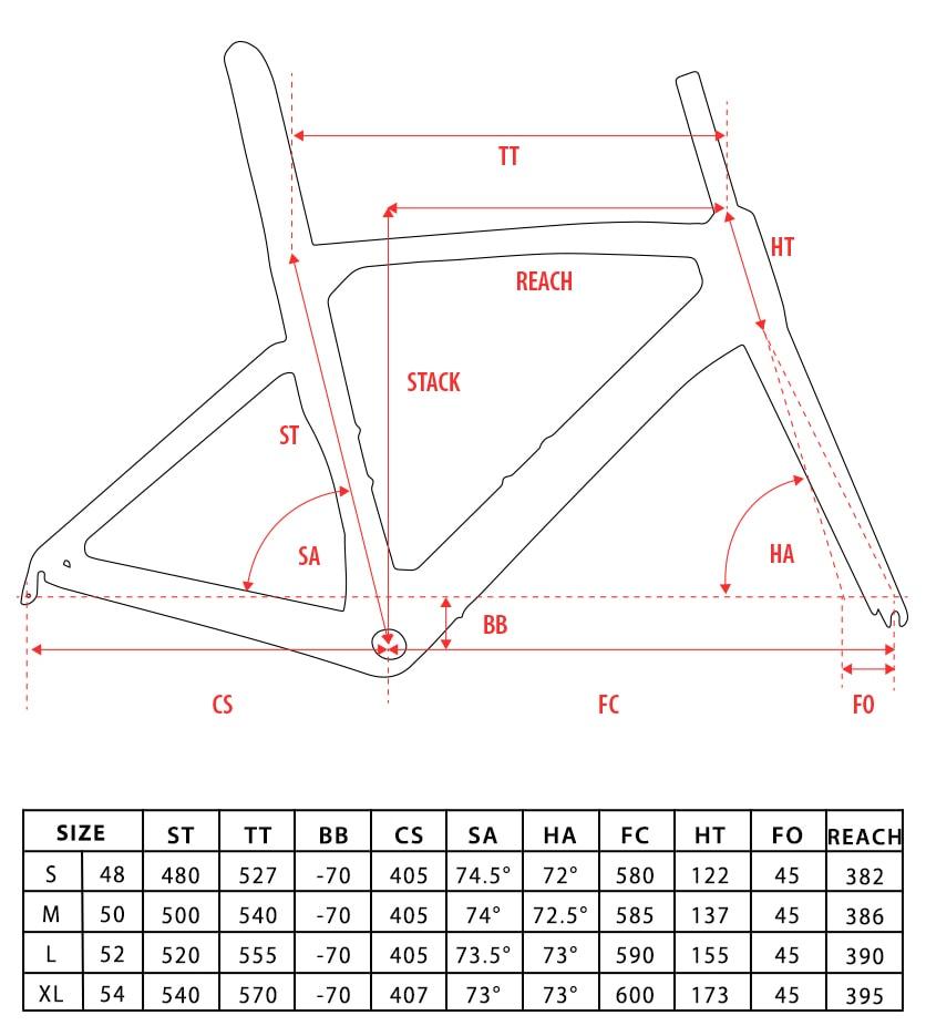 Aero-road-frame-geometry