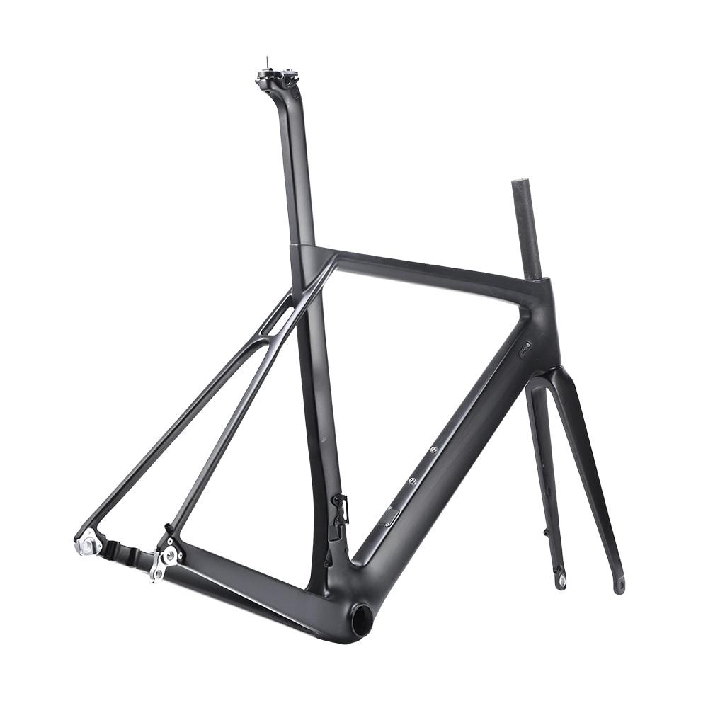 Disk Brake carbon road bike frame aero