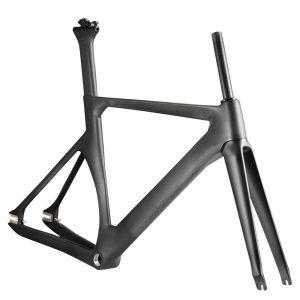Fixie carbon bike frame