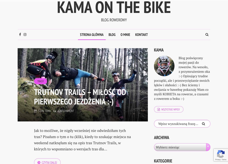 Kama On The Bike