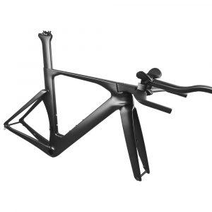 Rinasclta 2022 triathlon bike frameset UD black