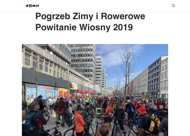 Rowerowe sygnaly