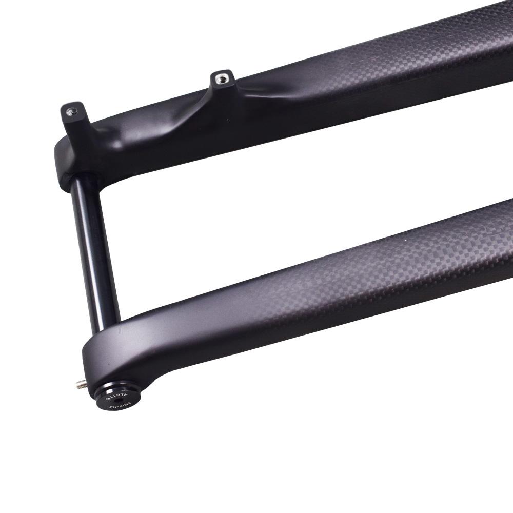 carbon 29er fork thru axle