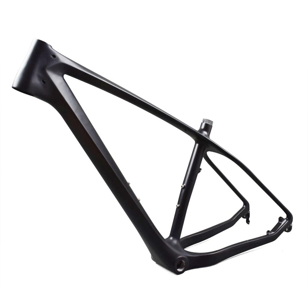 carbon fatbike frame side