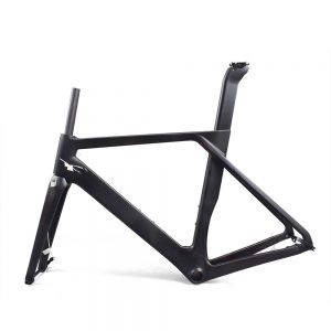 [2019 new] Aerodynamic Disc Brake Road Bike Frame set (Customized painting available)