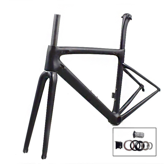 Rinasclta 2019 lightweight carbon road frame with headset