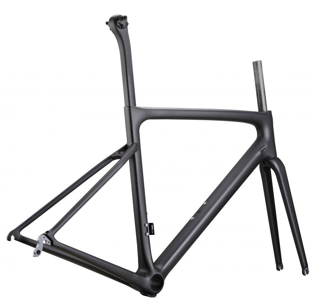 Rinasclta lightweight carbon road bike frame aero tube