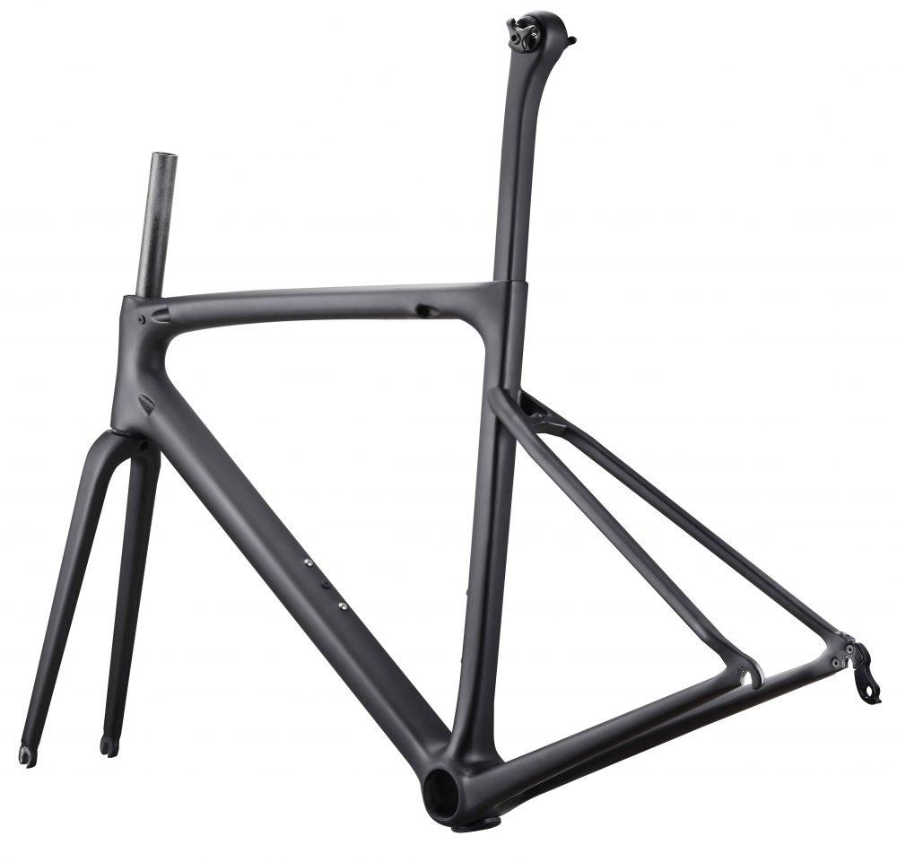 Rinasclta lightweight carbon road bike frame rim brake