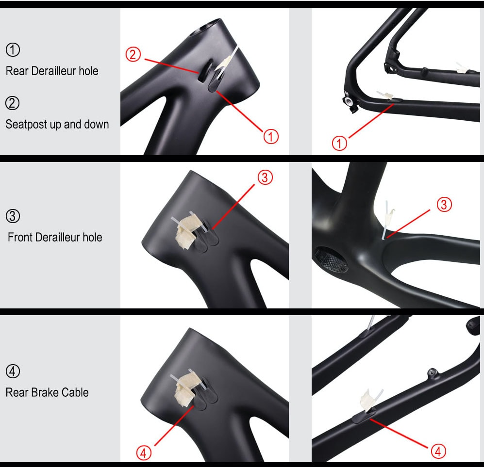 rinasclta 2020 29er mtb hardtail frame cable route guide
