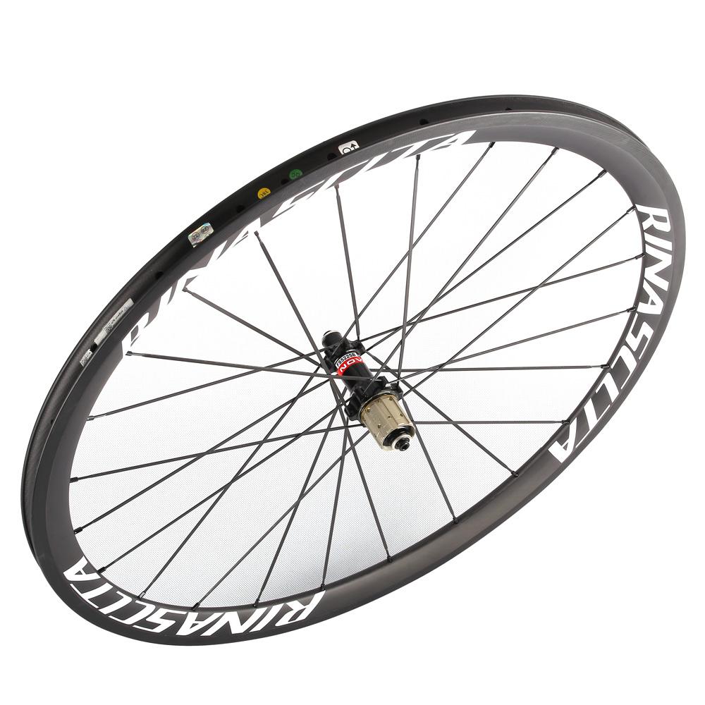 Rinasclta carbon fiber road bike wheelset novatec hubs