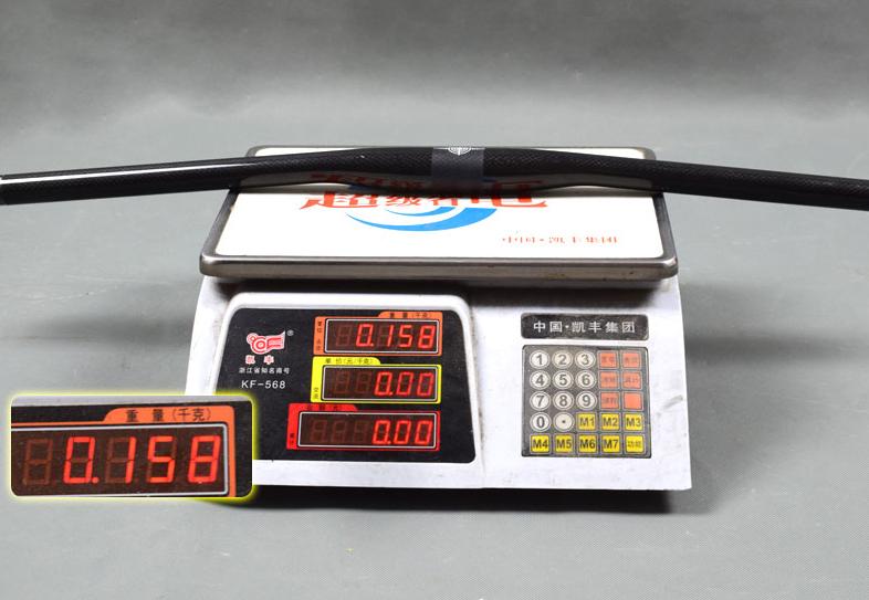 carbon mountain bike flat handlebar weight 160g