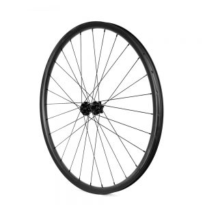 MTB 27.5er wheelset asymmetry