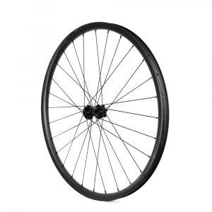 MTB 27.5er wheelset asymmetry