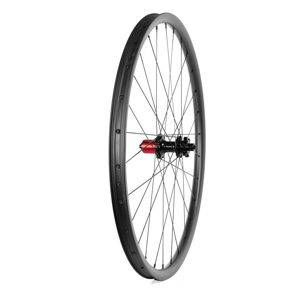 MTB 27.5er wheelset symmetry