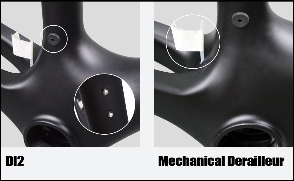 Rinasclta new lightweight frame di2 compatible