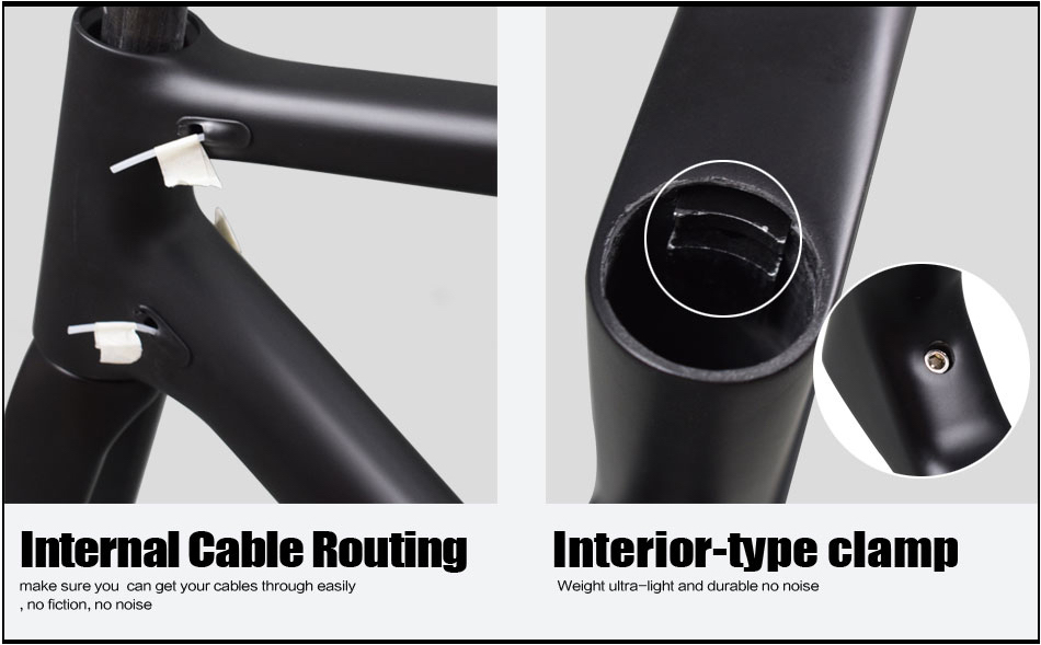 Rinasclta new lightweight frame hidden seatpost clamp