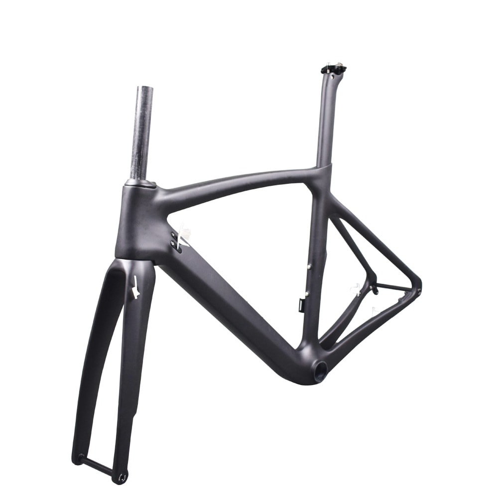 Rinasclta disc brake frameset 2021 with thru axle_1