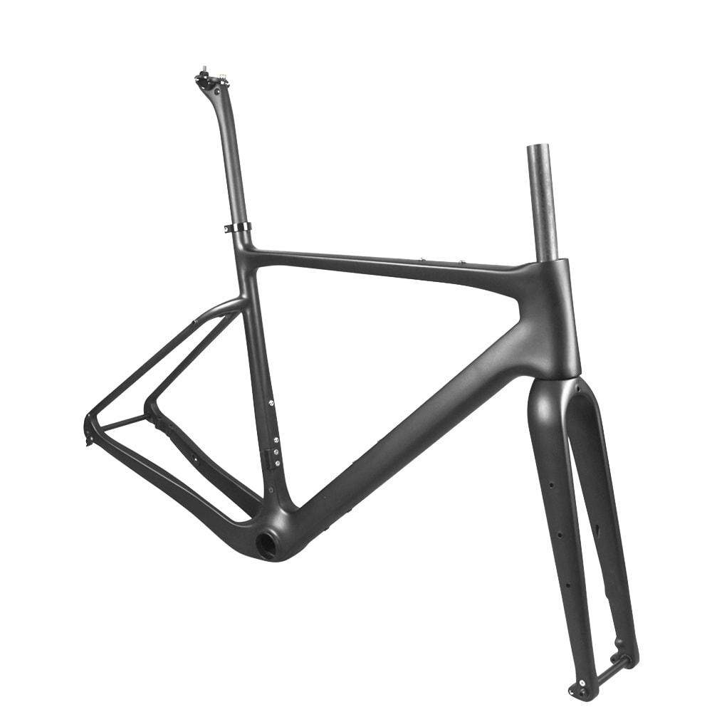 carbon gravel bike frame aero fork
