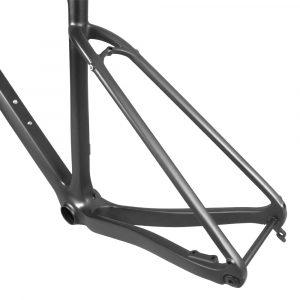 carbon gravel bike frame flat mount
