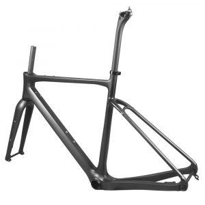 carbon gravel bike frame lower sear tube stay