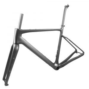 carbon gravel bike frame max tire 700c*40mm