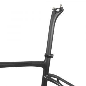 carbon gravel bike frame offset seapost
