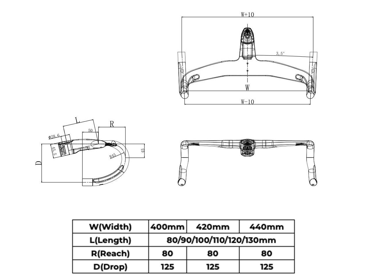 gravel integrated handlebar geometry