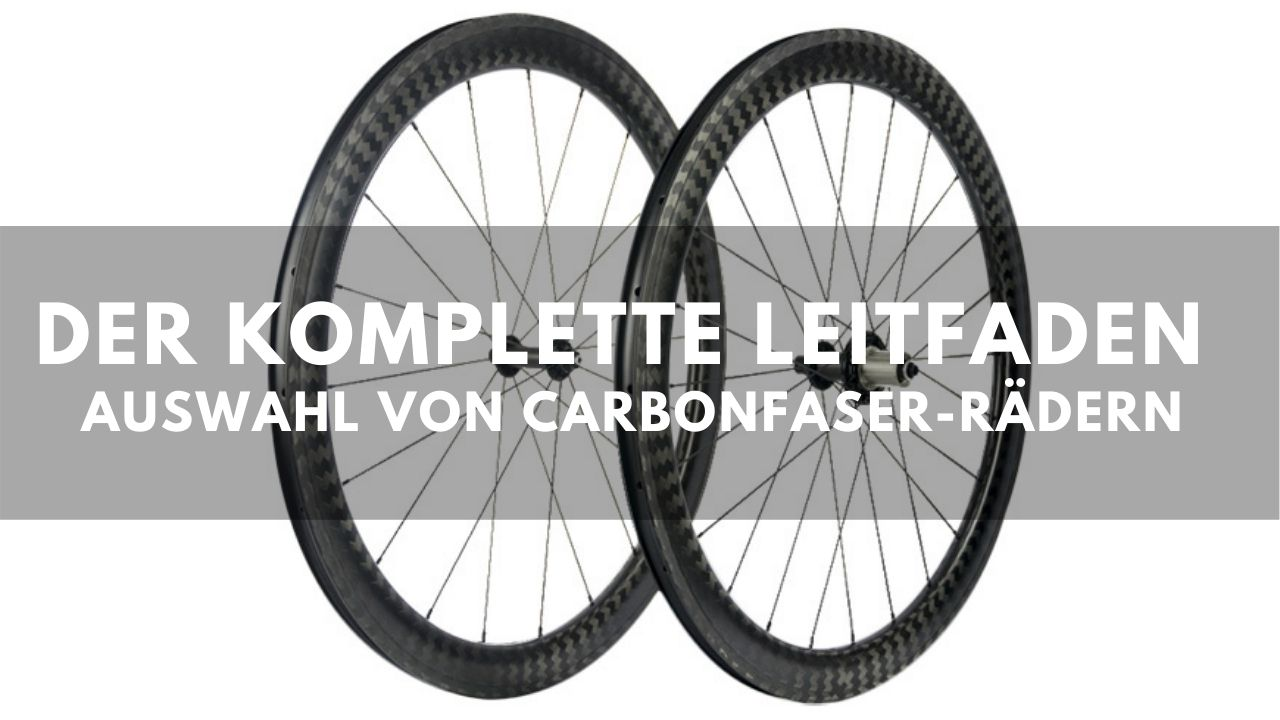 Carbon-Laufradsatz-Anleitung