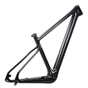 carbon 29er mtb boost hardtail frame glossy