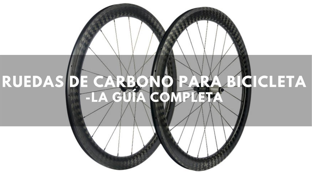 ruedas de carbono guía