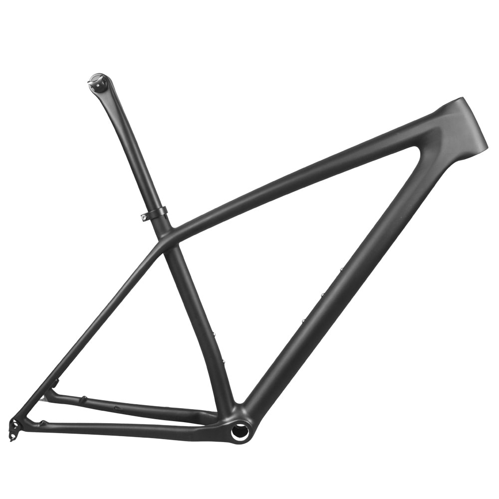 29er carbon mtb boost frame lightweight with seatpost class geo