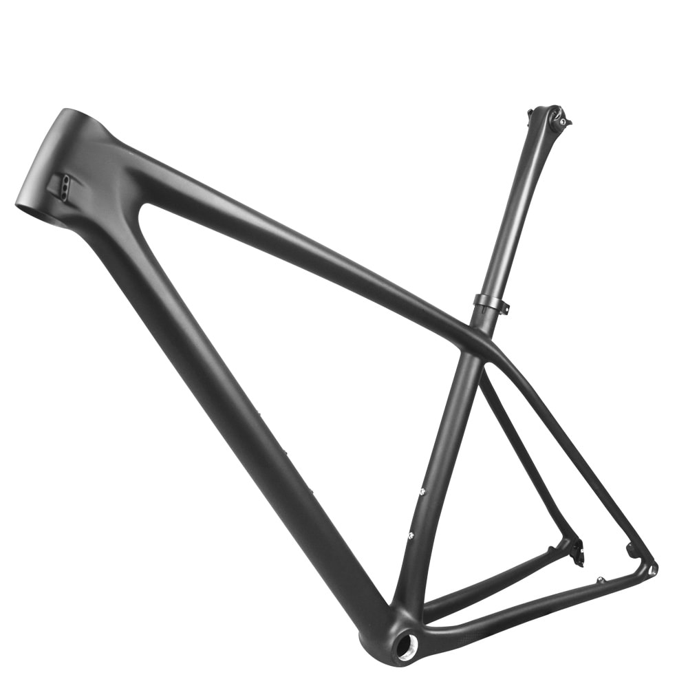 29er carbon mtb boost frame lightweight with seatpost internal cable route