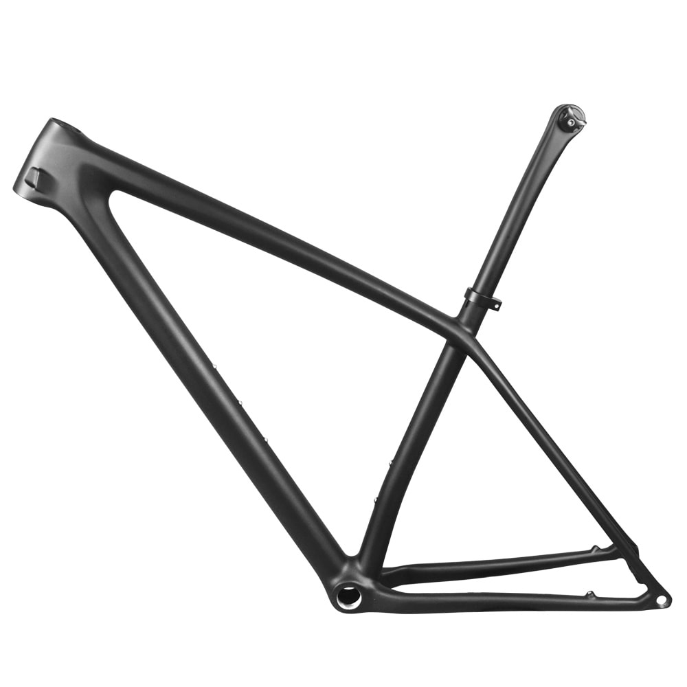 29er carbon mtb boost frame lightweight with seatpost single speed crank 36T