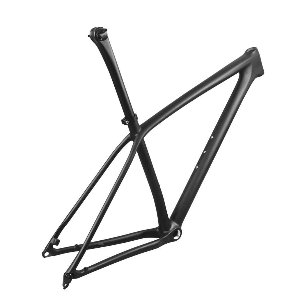 29er carbon mtb boost frame lightweight with seatpost thru axle 148*12mm boost