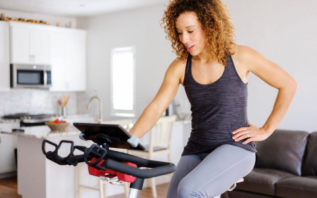 gym training bike