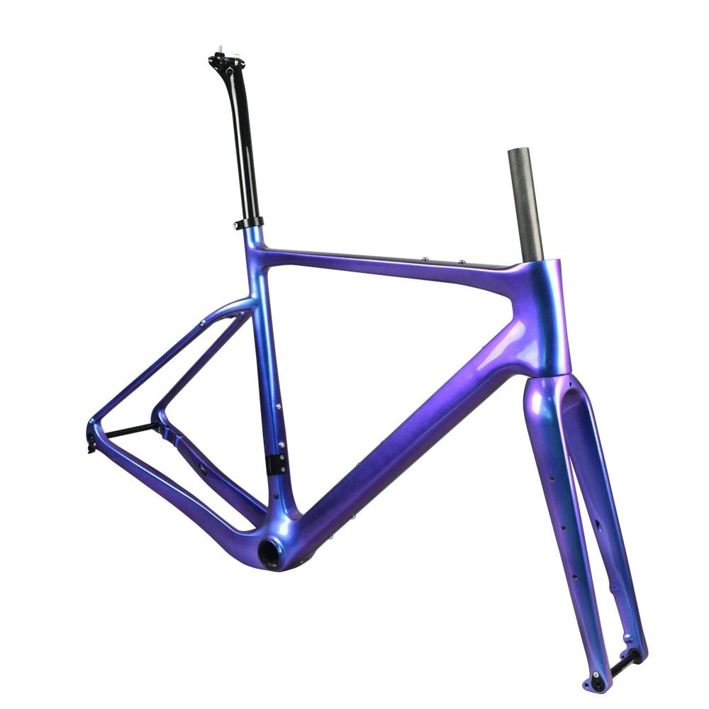 rinasclta carbon gravel bike frame chameleon aero
