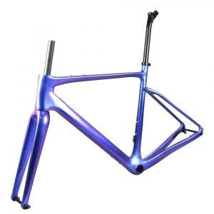 rinasclta carbon gravel bike frame chameleon full internal able