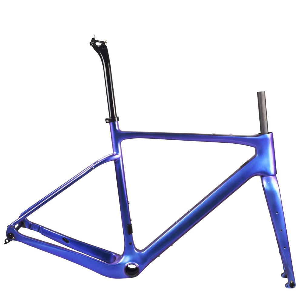 rinasclta carbon gravel bike frame chameleon