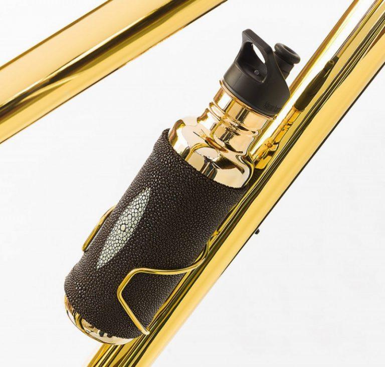 24k gold mtb bike bottle cage